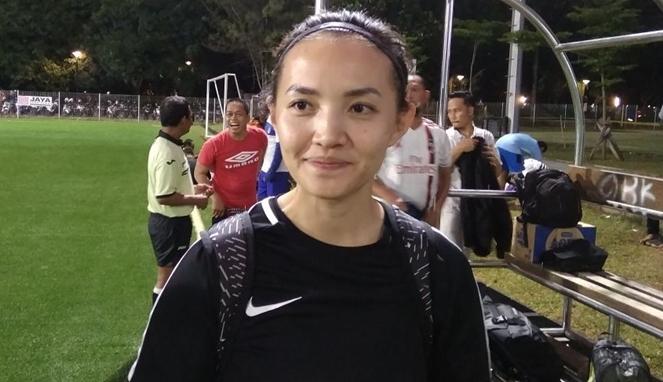 Grace Joseline, Model Cantik yang Menjadi Dokter Timnas Sepakbola Wanita