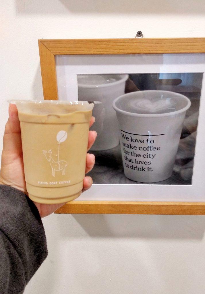 Flying Goat Coffee, Menikmati Es Kopi Susu dari Susu Kambing
