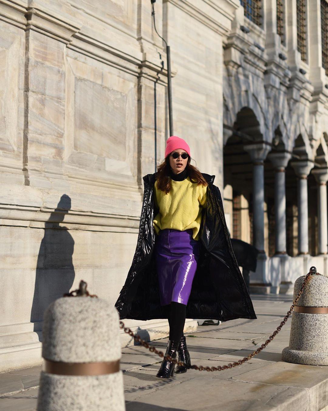 Mengintip Gaya Liburan Model Patricia Gouw