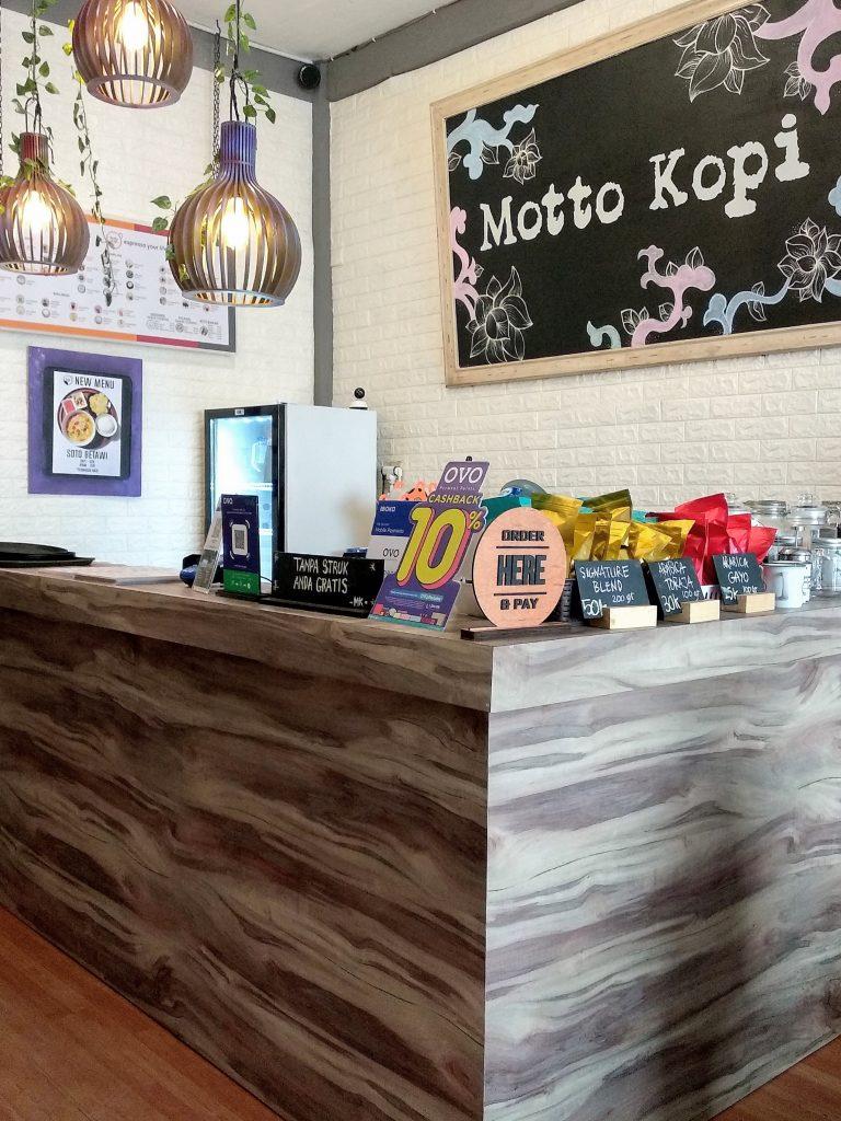Motto Kopi, Kedai Kopi Kekinian yang Dekat dengan Stasiun MRT