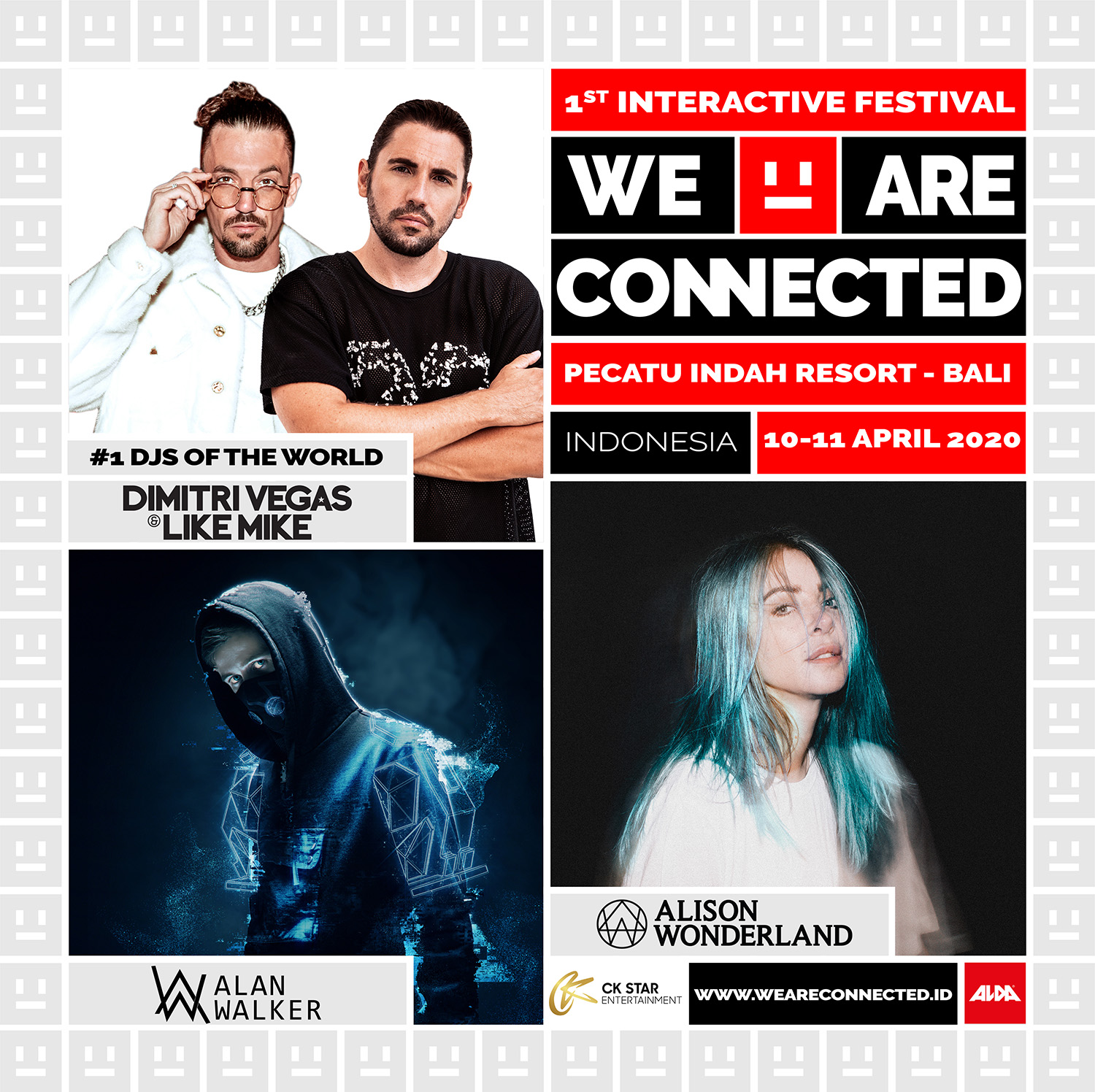 Harga Tiket Festival WAC - CK Star Entertainment presents We Are Connected Festival