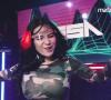 DJ NISSA PERFORM MUSIK BREAKBEAT AND JUNGLE DUTCH