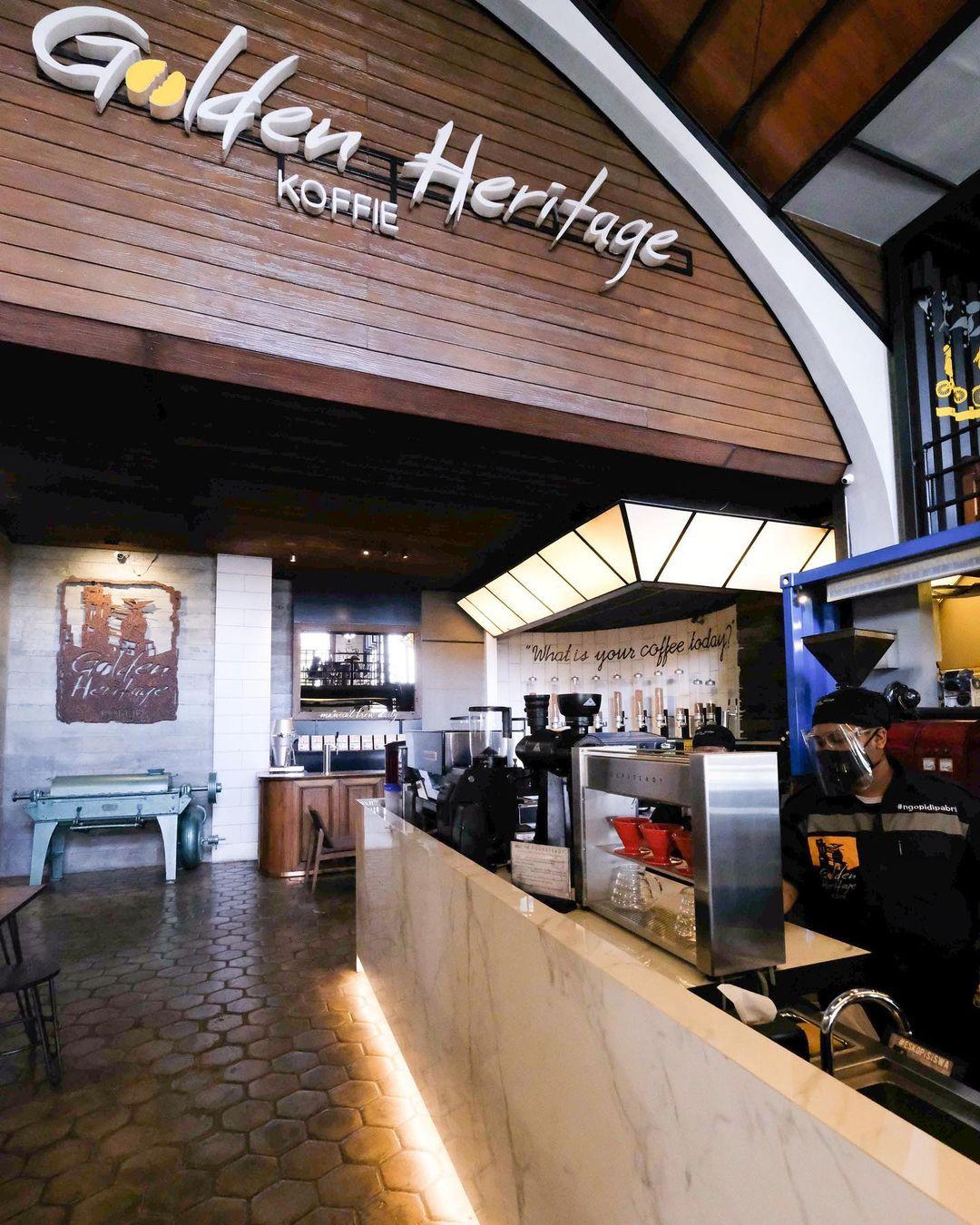 Golden Heritage Koffie, Kedai Kopi Instagramable di Malang