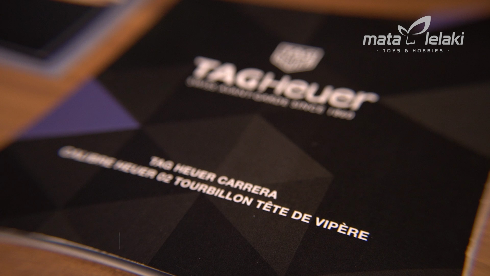 TAG Heuer Carrera 'Tete de Vipere' : Sertifikasi Tertinggi, Hanya Di Pasarkan 155 Unit Di Dunia
