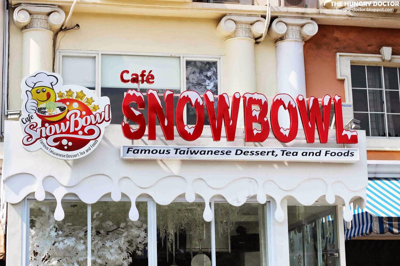 Menikmati Dessert Khas Taiwan di Snow Bowl Cafe PIK