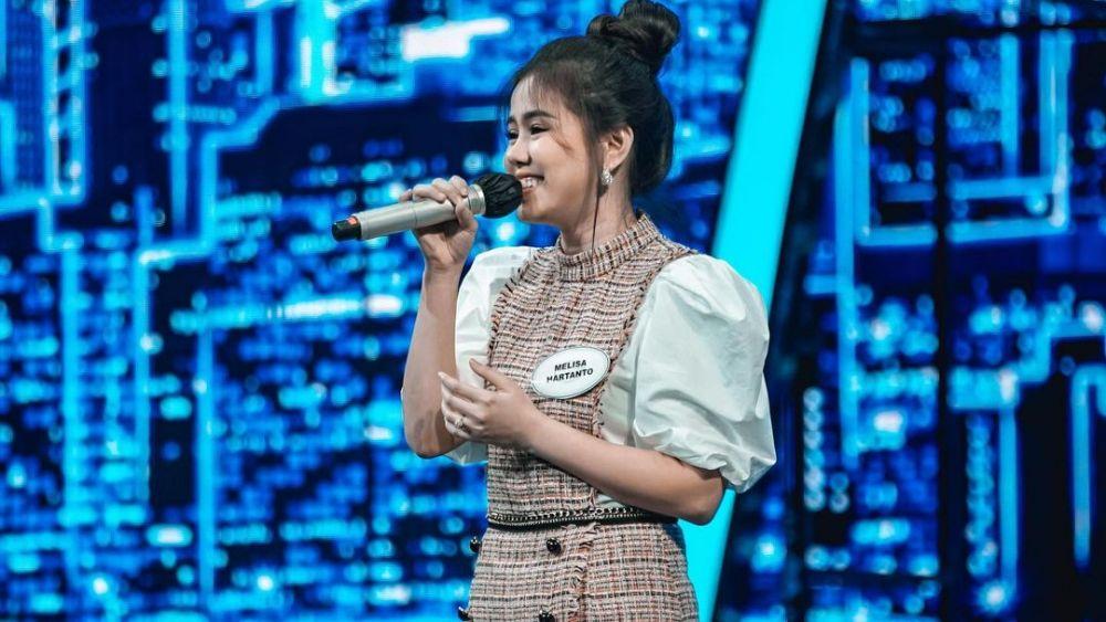 Cantiknya Pesona Melisa Hartanto Indonesian Idol Seperti Ibu Peri