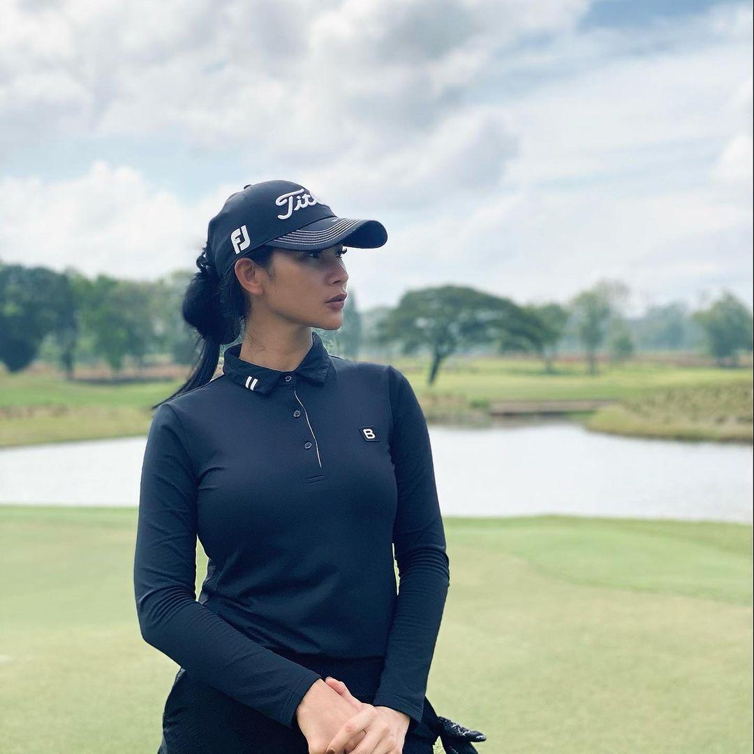 Gina Aditya, Chef Cantik Primadona Pecinta Golf