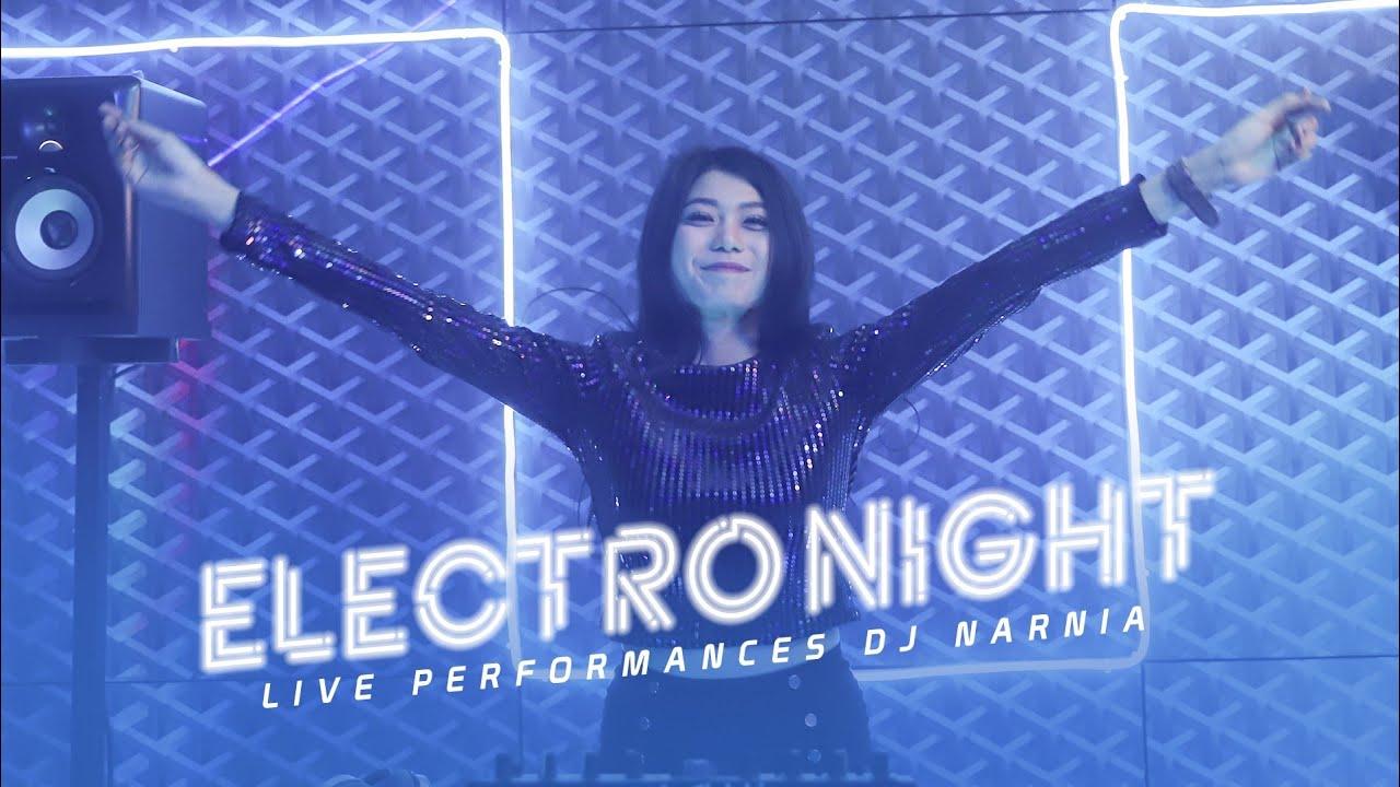 "DJ NARNIA ""ELECTRO NIGHT"" - SEGMEN 2/3 PERFORM GUEST DJ - LIVE STUDIO 2 MATALELAKI 16/12/2019"