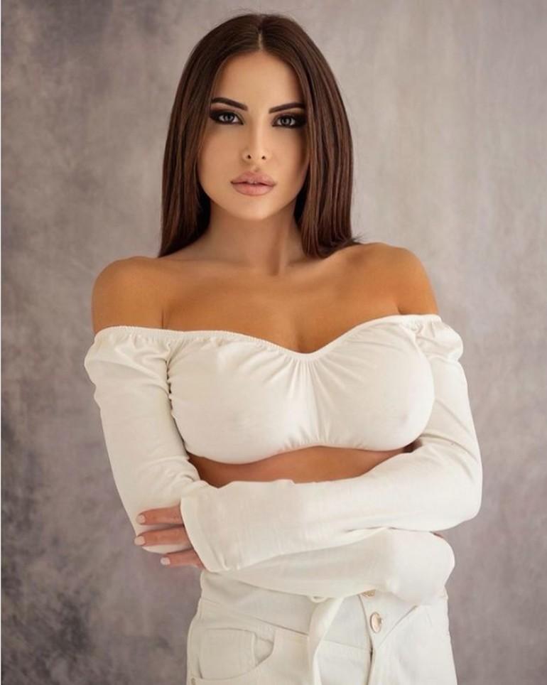 Sosok Model Seksi Luisa Jacobelli yang Menjadi Pacar Rahasia Mbappe