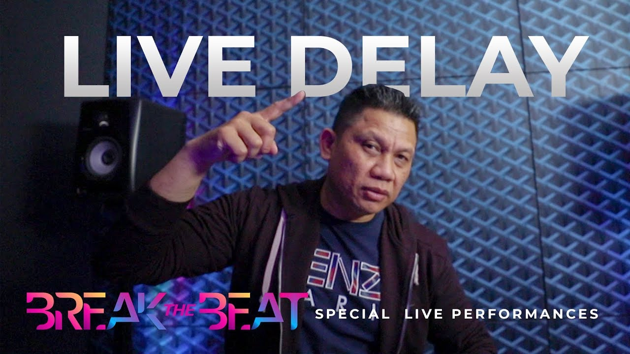 """DJ BONEY TZUNAMI """"BREAK THE BEAT"""" - LIVE DELAY STUDIO 2 MATALELAKI 15/10/2019 ( BREAKBEAT )"""
