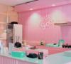 Morning Glory Tropical, Cafe Serba Pink di Bandung