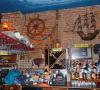 Mendatangi Cafe Resto Bertema Bajak Laut