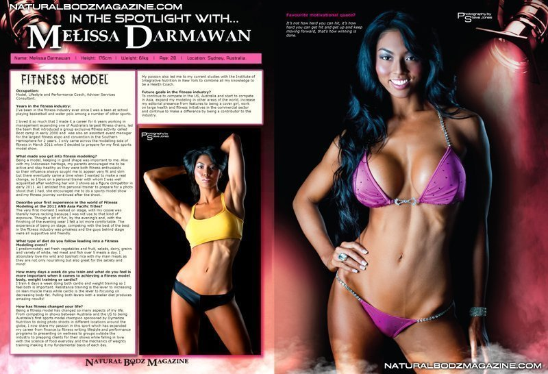 Melissa Darmawan, Model Pakaian Bikini dari Australia Berdarah Indonesia