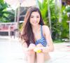 Model Cantik Rea Dinita Siap Menerima Tawaran SPG