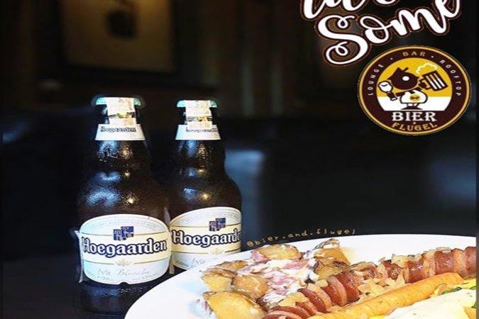 Minum Bir Ala Jerman di Bier n Flugel
