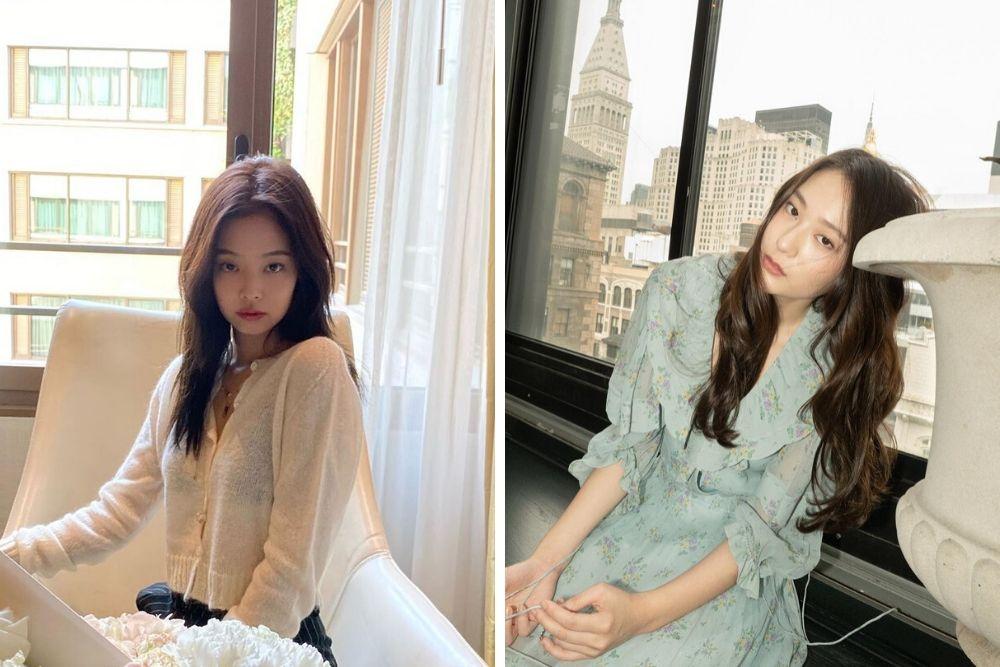 Adu Cantik Mantan Kai EXO: Jennie Blackpink dan Krystal ex F(x)